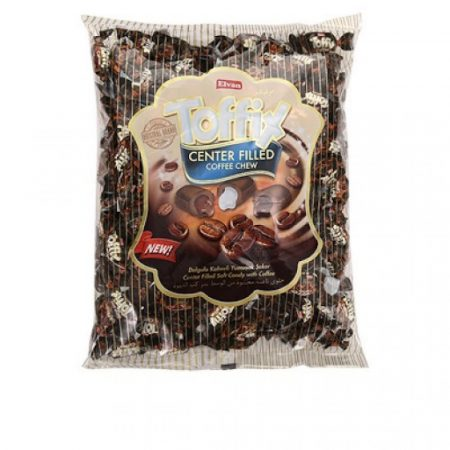 Toffix Center Filled Coffee Chew 1kg-os